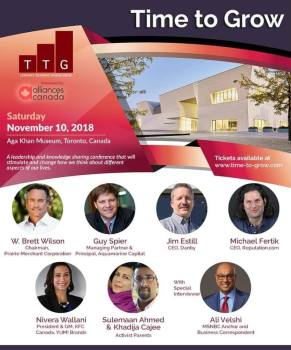 Time to Grow: Leadership and knowledge sharing conference at the Aga Khan Museum