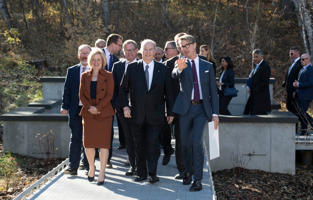 Photo Album: Premier Notley attends Aga Khan Garden opening