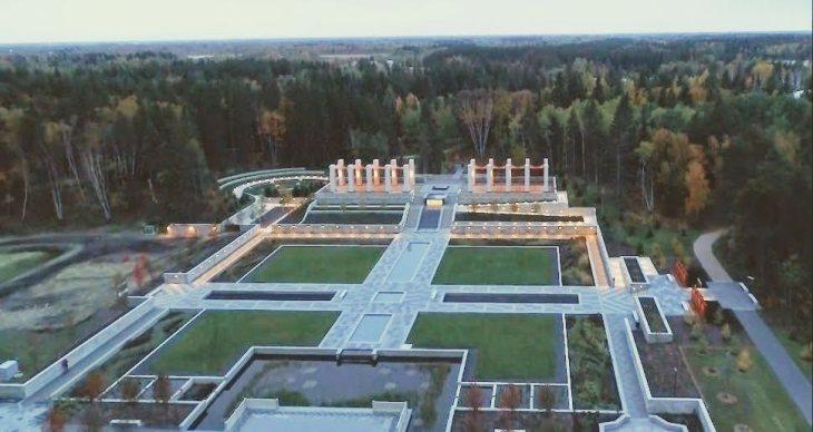 Time lapse video of the Aga Khan Garden, Alberta