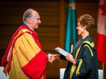 Aga Khan receives honorary degree at University of Calgary ceremony   Calgary Herald