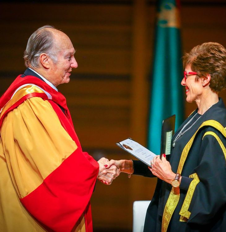 Aga Khan receives honorary degree at University of Calgary ceremony | Calgary Herald