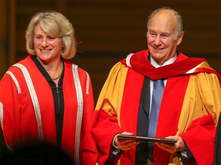 Aga Khan receives honorary degree at University of Calgary ceremony | Calgary Sun