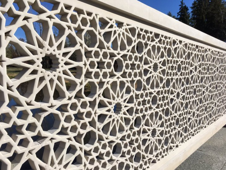 'Where the human meets further proof of the divine': Aga Khan officially opens Islamic garden