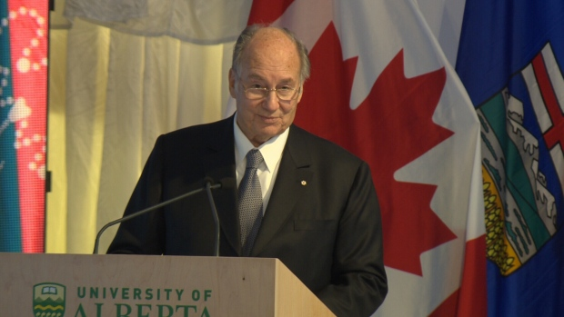 CTV Report: Aga Khan visits namesake U of A garden