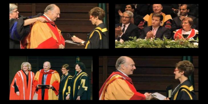 Video: Conferral of Honorary Doctor of Laws - University of Calgary: His Highness the Aga Khan