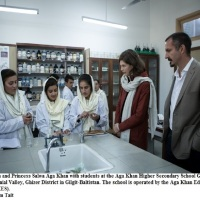Prince Rahim and Princess Salwa Aga Khan visit Pakistan