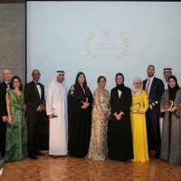 Sajida H. Shroff: Harvard Club of the UAE Gala in Dubai