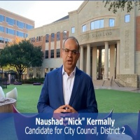 Naushad Kermally: Candidate for City Council, District 2, Sugarland, TX