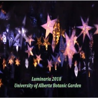 Luminaria 2018 at the University of Alberta Botanic Garden