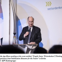 "KfW ""Weiterdenken"" (""Thinking Ahead"") event- Berlin, Germany 2019"