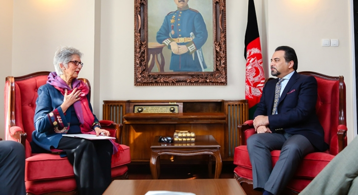 akdn diplomatic representative calls on deputy foreign minister
