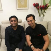 Salim Merchant In Conversation With A. R. Rahman @salim_merchant @slimsulaiman