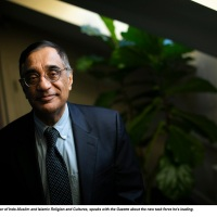 Professor Ali Asani Receives 2020 Harvard Foundation Faculty of the Year Award