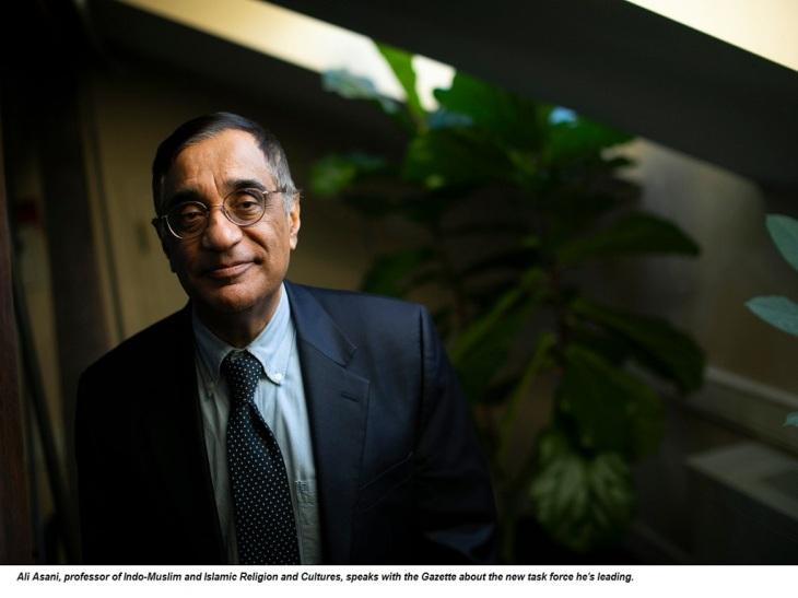 Portrait of Professor Ali Asani
