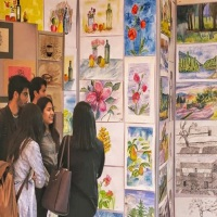 AKU students showcase their artistic skills