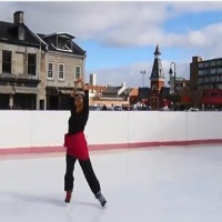 Sara-Maya Kaba: Ghunghroos around my ankles and hockey skates on my feet