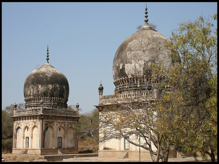 Taramati and Premamati Tombs