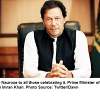 Prime Minister of Pakistan Imran Khan felicitates communities celebrating Nauroz