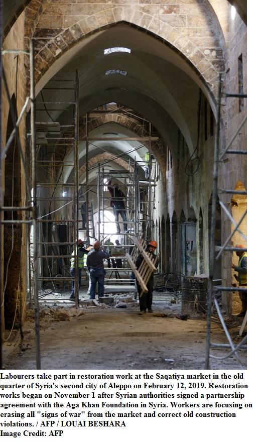 SYRIA-CONFLICT-ALEPPO-RECONSTRUCTION-HISTORY