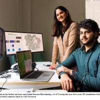Saara and Ali Punjani: University of Toronto startup is leading Big Pharma out of the dark