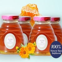 Pure Khoja Honey: Raw, Unfiltered, Natural