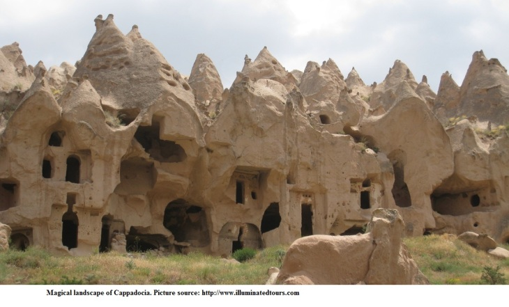 Magical Lanscape of Cappodocia