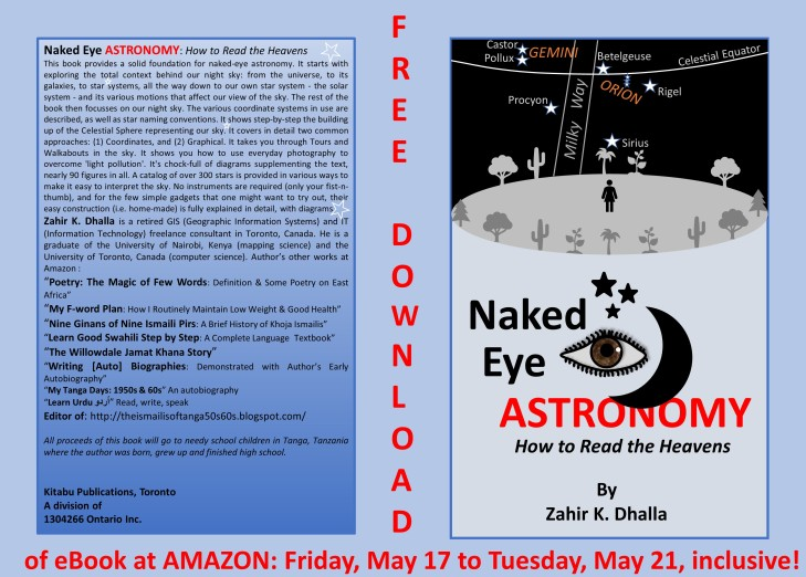 Naked Eye Astronomy - free download reminder - 1