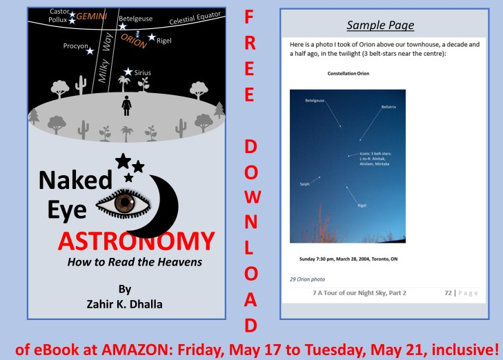 Naked Eye Astronomy - free download reminder - 2