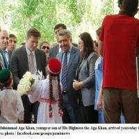 Prince Aly Muhammad Aga Khan Visits Tajikistan