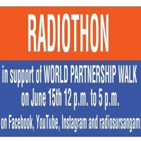 Radiosursangam.com: Radiothon in Support of World Partnership Walk 2019