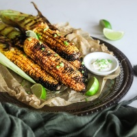 Street-Style Spicy BBQ Corn (Butta) Gluten Free, Side