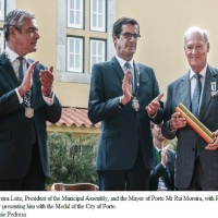 Prince Amyn Aga Khan receives Medal of Honour of the City of Porto (Video)