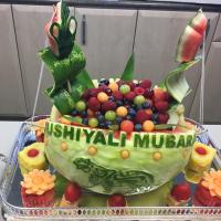 Salim Somani: Watermelon Carving for #ImamatDay2019