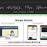 Our Artists, Our Heroes: Nargis Balolia