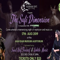 Event: The Sufi Dimension in the Auditorium of @AgaKhanMuseum