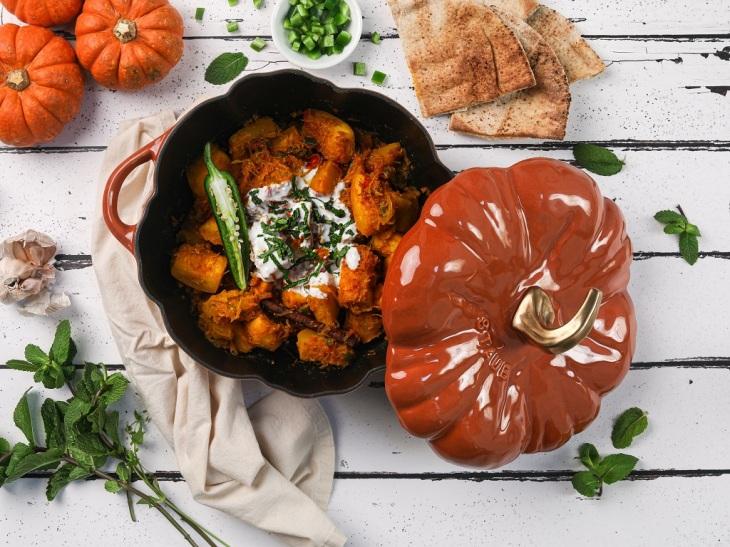 Afghan Pumpkin Curry (Kaddo) Desi-licious Ethnic Recipes Ismailimail