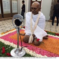 Shraddhanjali: A Memorial Tribute to Mahatma Gandhi held @Unity_Houston