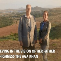 Princess Zahra Aga Khan receives Asia Society Texas Center's Huffington Award