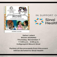 Mother, No Other Like Her: Saher Lalani Book Signing Event in Toronto in Support of Sinai Health