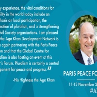 Video: Aga Khan Development Network Partners with the Paris Peace Forum 2019
