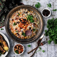 Holiday Persian Rice   Desi~licious Ethnic Recipes by Shahzadi Devje (@Desiliciousrd)