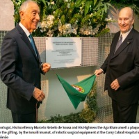 Video: Donation Ceremony of the Da Vinci Surgical System by Ismaili Imamat to Central Lisbon University Hospital Centre