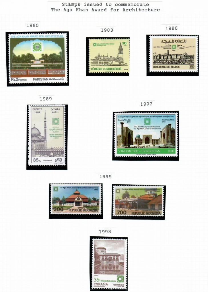 AKAA Award Stamps 1980 to 1998
