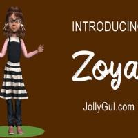 #Salgirah2019 Special: Meet Zoya, JollyGul.com First Animated 3D Character!