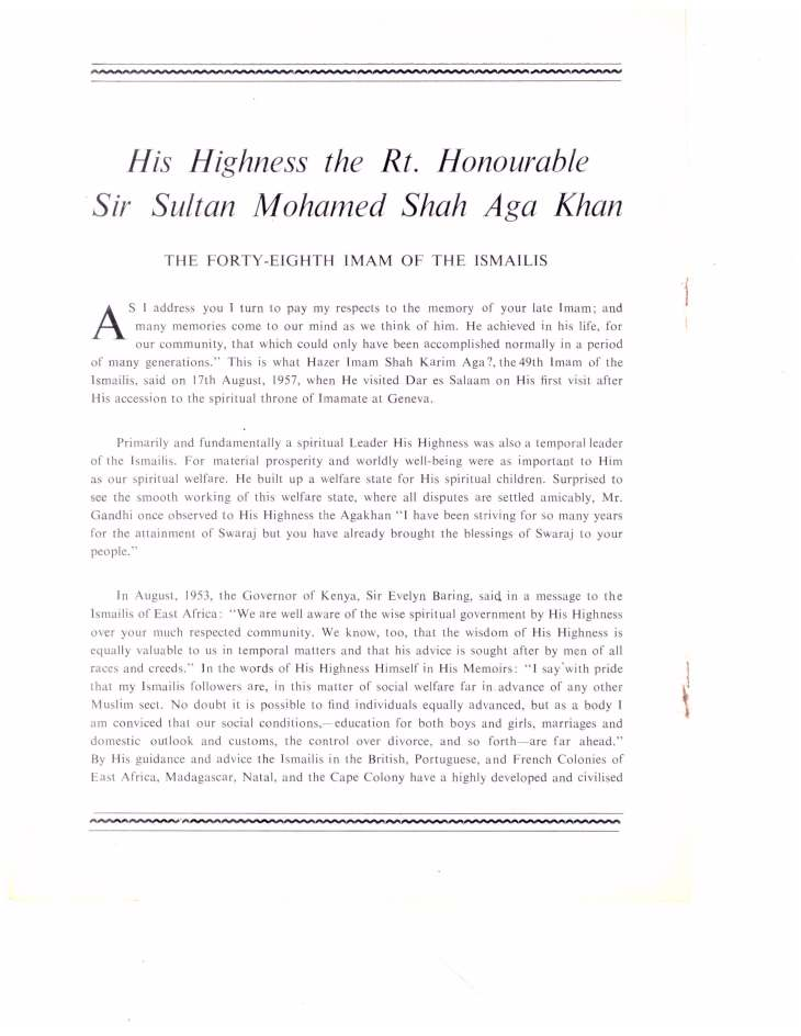 Souvenir of Entrhronement of Mawlana Hazar Imam Tanganyika Oct 19 1957_Page_07