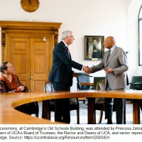 University of Central Asia Signs Partnership Agreement with University of Cambridge