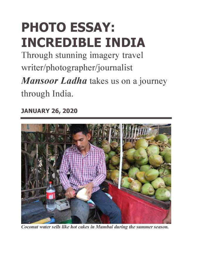 Essay on Incredible INDIA