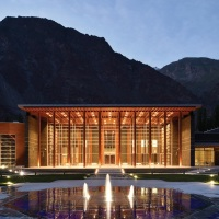 Ismaili Jamatkhana and Centre, Khorog, Tajikistan, German Design Award Winner 2020