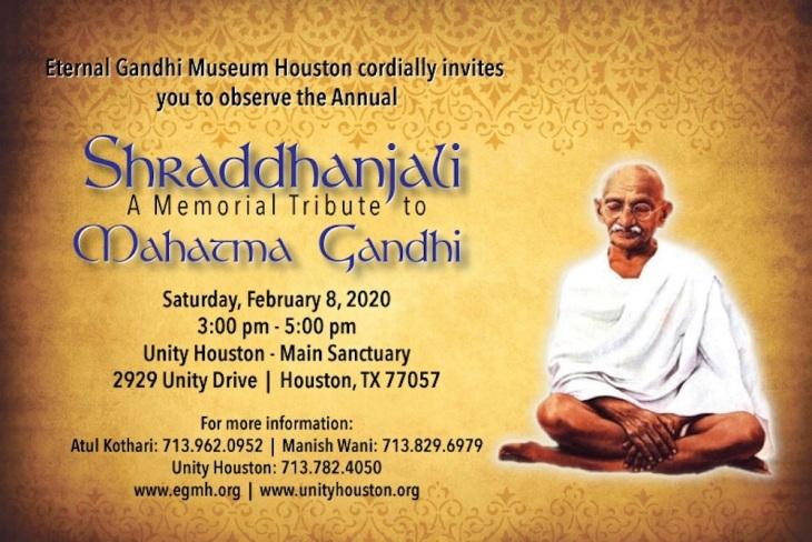 Shraddhanjali-Unity-of-Houston-Flyer