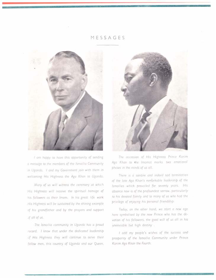 Souvenir of Entrhronement of Mawlana Hazar Imam Uganda Oct 25 1957_Page_05